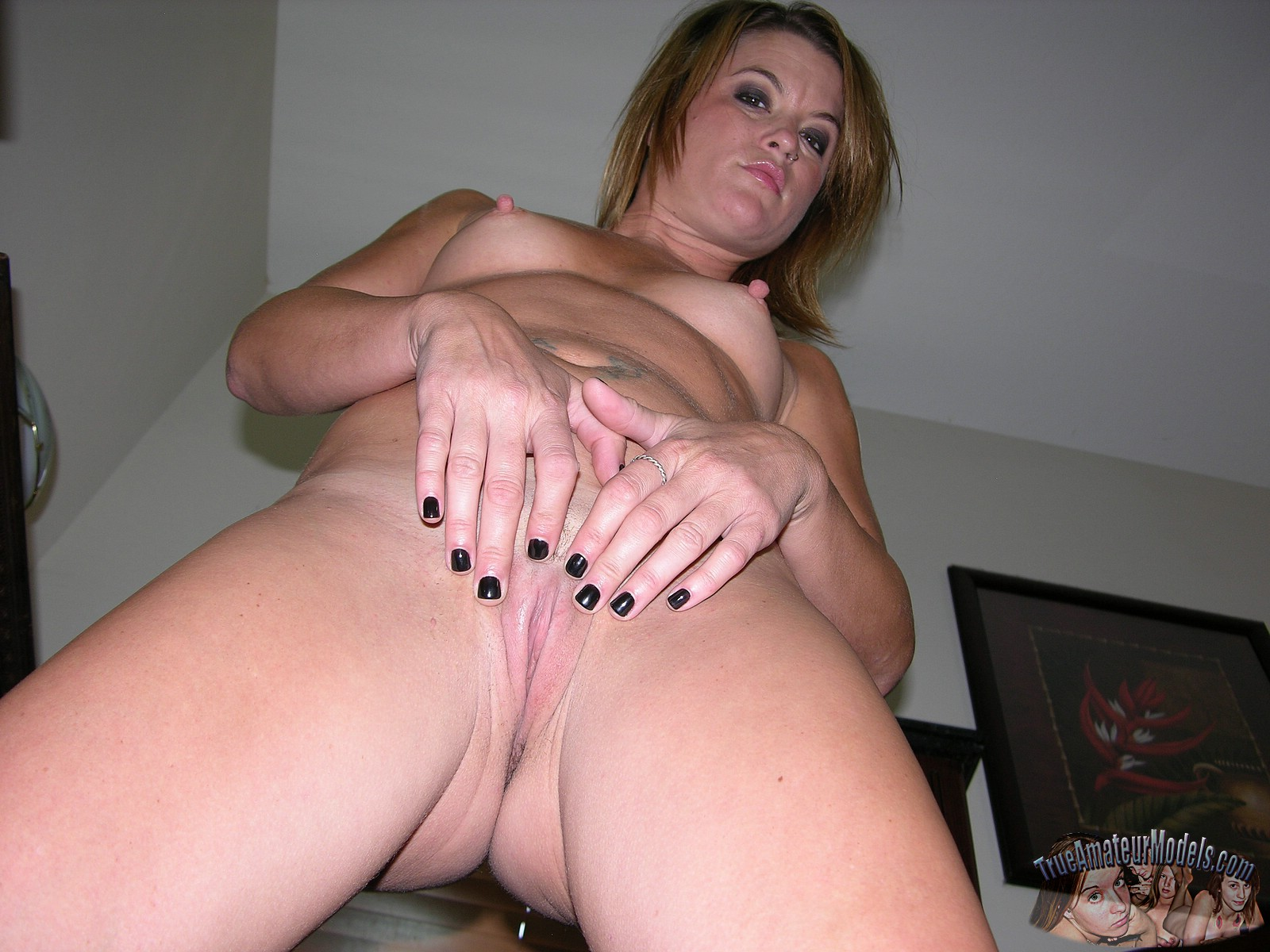 Hairy Ginger Small Tit Milf