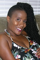 Pregnant Black MILF Spreading Ass