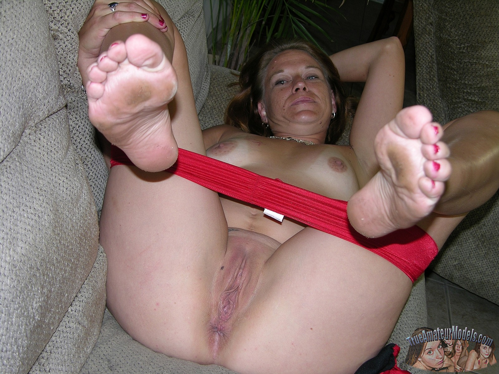 Hot blonde wife handjob