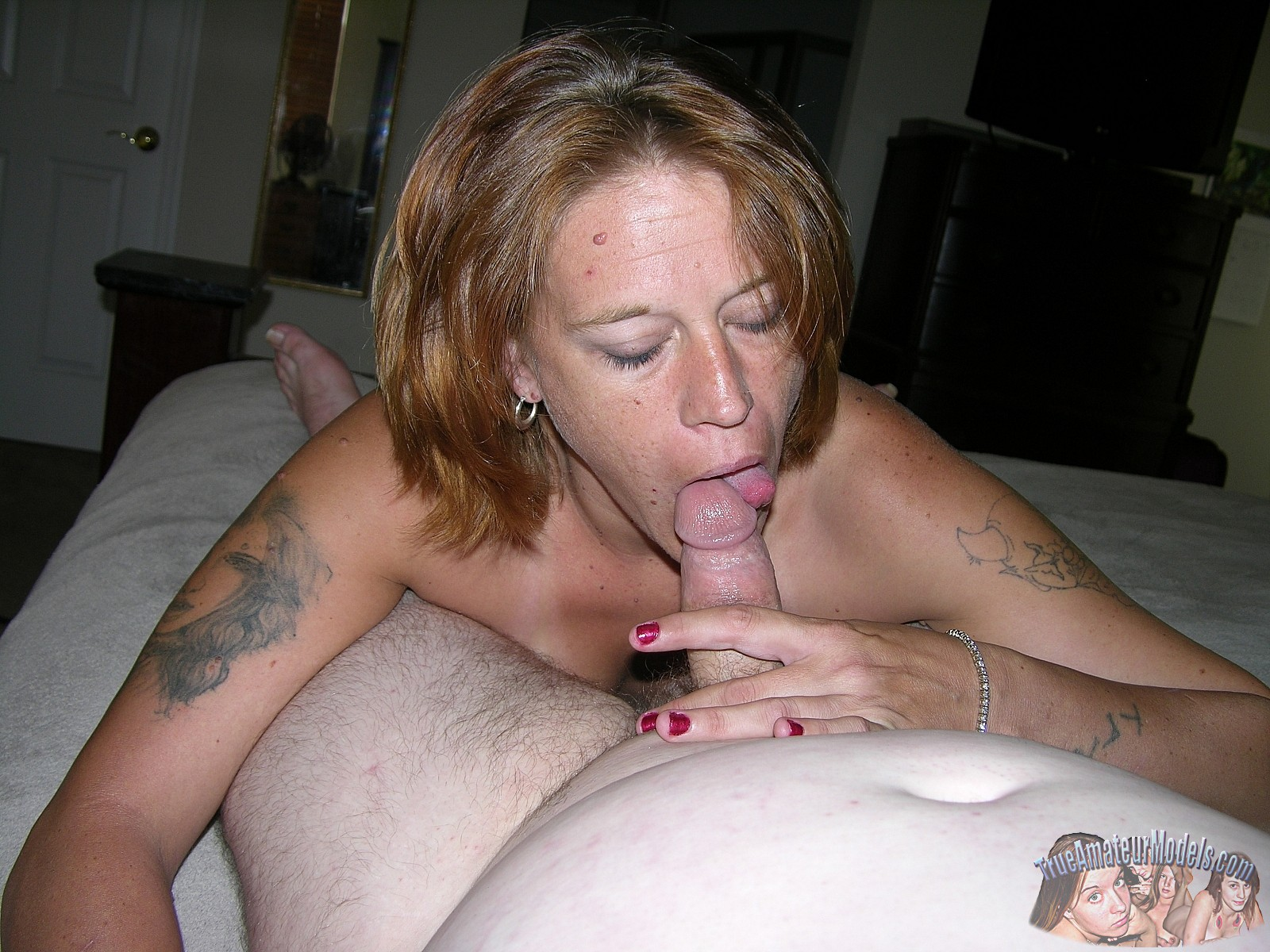True amateur models blowjob